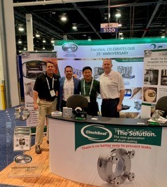 CinchSeal exhibits at IBIE